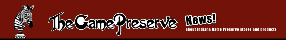 The Game Preserve Stores header image